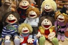Frech – unsere Living Puppets